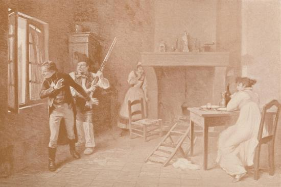 'An Episode of the White Terror, 1815', (1896)-Unknown-Giclee Print