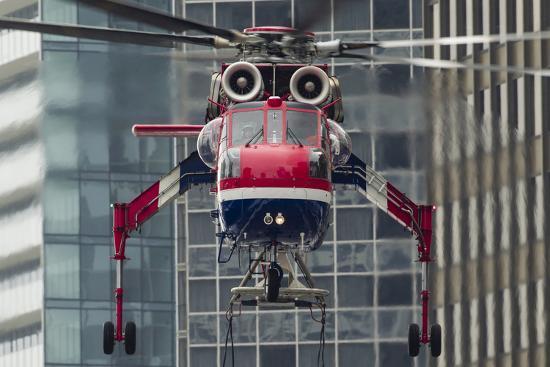 An Erickson Aircrane S-64 Aircrane Heavy-Lift Helicopter--Photographic Print