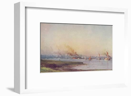 'An Estuary', 1910-WL Wythe-Framed Art Print