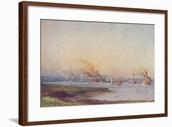'An Estuary', 1910-WL Wythe-Framed Giclee Print
