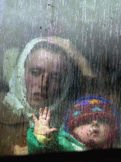 An Ethnic Albanian Refugee Woman--Photographic Print