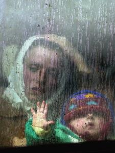 An Ethnic Albanian Refugee Woman