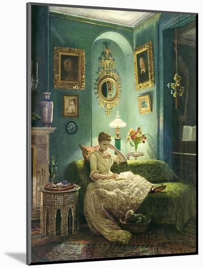 An Evening at Home, 1888-Edward John Poynter-Mounted Giclee Print