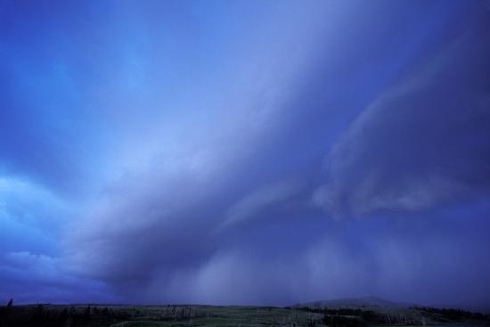 An Evening Storm over the Blacktail Plateau-Tom Murphy-Photographic Print