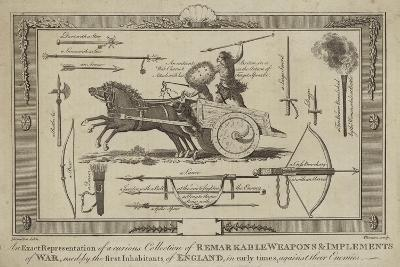 An Exact Representation of a Curious Collection of Remarkable Weapons--Giclee Print