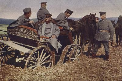 An Example of Polish Roads, World War I, 1914-1916--Photographic Print
