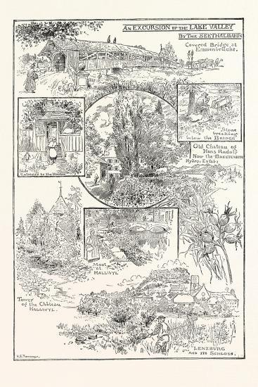 An Excursion Up the Lake Valley by the Seethalbahn--Giclee Print