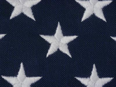 An Exteme Close-up of the Stars on an American Flag-Todd Gipstein-Photographic Print