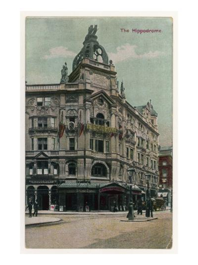 An Exterior View of the Hippodrome Theatre, London--Giclee Print