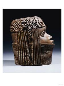 An Extremely Fine Benin Bronze Head, Uhunmwun-Elao (Middle Period)