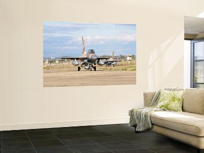 An F-16B Netz of the Israeli Air Force-Stocktrek Images-Wall Mural
