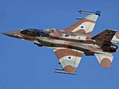 An F-16I Sufa of the Israeli Air Force in Flight Over Israel-Stocktrek Images-Photographic Print