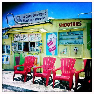 An Ice Cream Stand-Skip Brown-Photographic Print