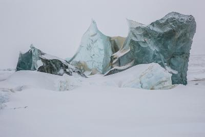 An Ice Formation in Western Greenland-Cristina Mittermeier-Photographic Print