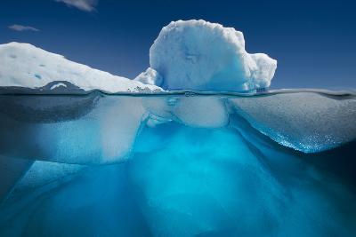 An Iceberg Off the Coast of the Antarctic Peninsula-David Doubilet-Photographic Print