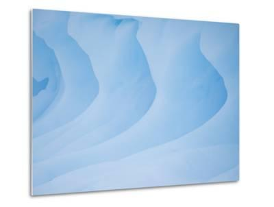 An Iceberg on the West Side of the Antarctic Peninsula-Michael Melford-Metal Print