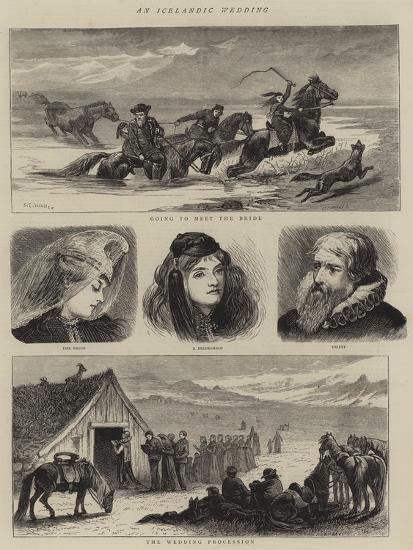 An Icelandic Wedding-Samuel Edmund Waller-Giclee Print