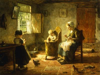 An Idle Afternoon-Evert Pieters-Giclee Print