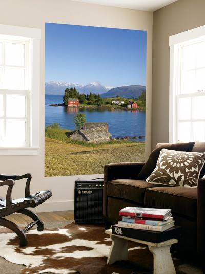 An Idyllic Rural Island in the Hardanger Fjord, Hordaland, Norway-Doug Pearson-Wall Mural