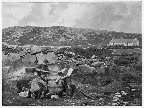 An Illicit Still in Donegal (Ireland)--Photographic Print