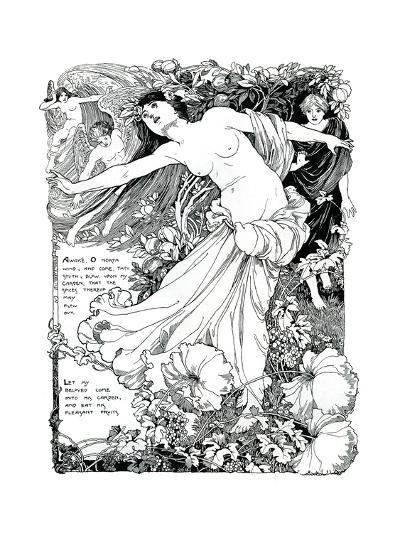 An Illustration for the Song of Solomon, 1899--Giclee Print