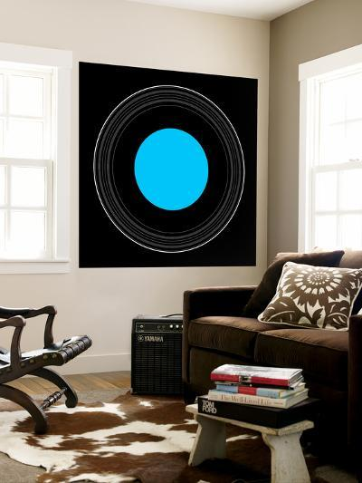 An Illustration Showing the Details of the Rings of Uranus-Stocktrek Images-Wall Mural