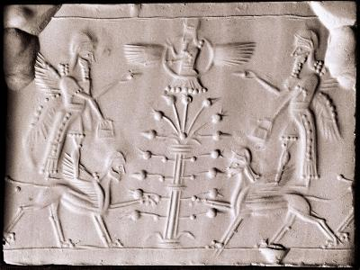 An Impression from a Cylinder Seal--Giclee Print