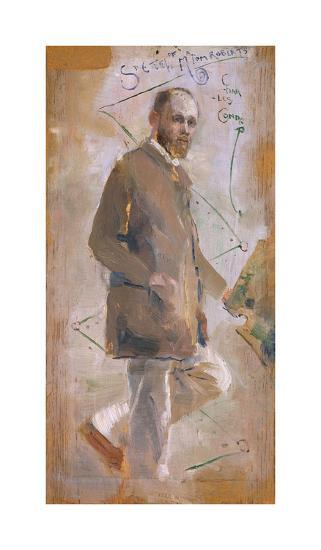 An Impressionist (Tom Roberts)-Charles Conder-Premium Giclee Print