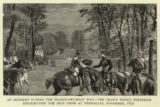 An Incident During the Franco-Prussian War--Giclee Print