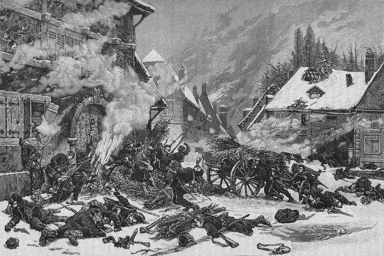 'An Incident In The Battle of Villersexel', 1902-Unknown-Giclee Print