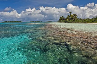 An Inner Lagoon Formed on Millennium Atoll-Mauricio Handler-Photographic Print