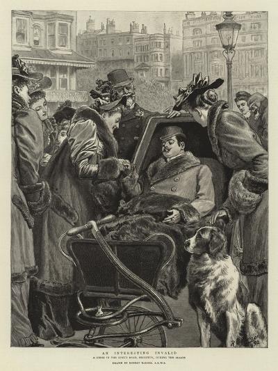 An Interesting Invalid-Robert Barnes-Giclee Print