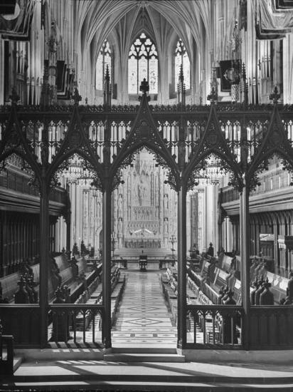 An Interior View of the National Cathedral--Photographic Print