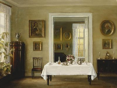 An Interior-Hans Hilsoe-Giclee Print