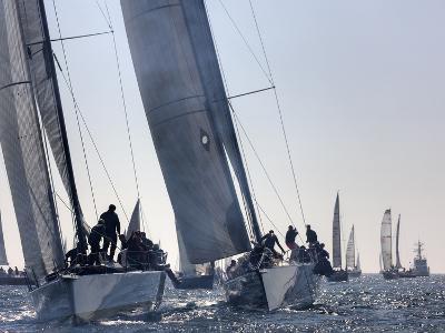 An International Yachting Race Near Victoria, British Columbia-Pete Ryan-Photographic Print