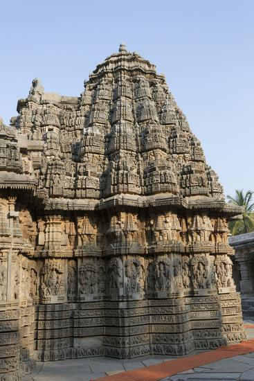 An Intricately Carved Pinnacle of the Keshava Temple-Kelley Miller-Photographic Print