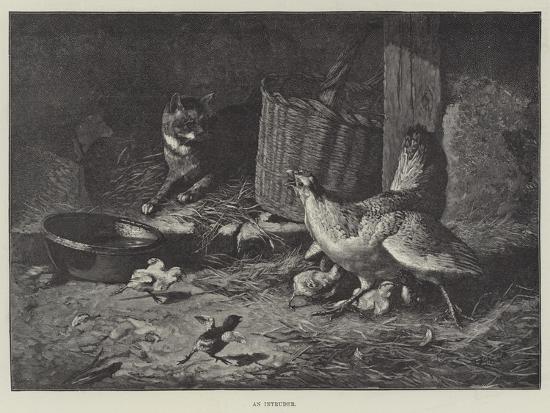 An Intruder--Giclee Print