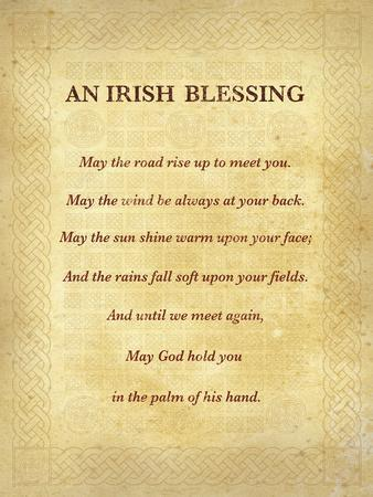 An Irish Blessing-The Inspirational Collection-Art Print