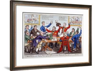 An Irish Wake..., 1821-C Williams-Framed Giclee Print