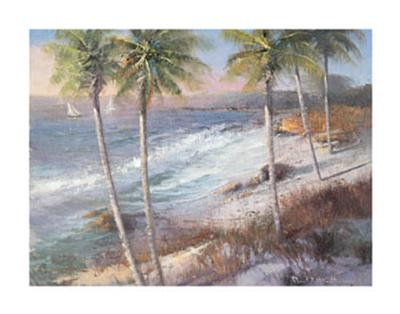 An Island Getaway-Paul Mathenia-Art Print