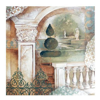 An Italian Garden-Patrizia Moro-Art Print