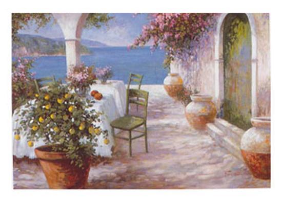 An Italian Summer IV-N^ Fiore-Art Print