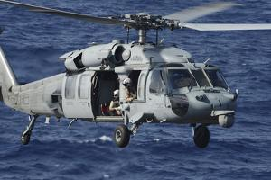 An Mh-60S Seahawk Helicopter