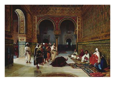 An Oath of Allegiance in the Hall of the Abencerrajes, Alhambra, Granada-Filippo Baratti-Giclee Print