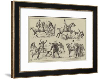 An Obstructionist--Framed Giclee Print