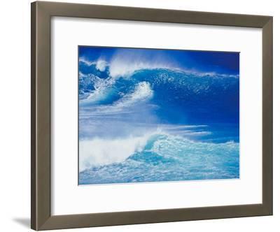 An Ocean Wave in Hawaii