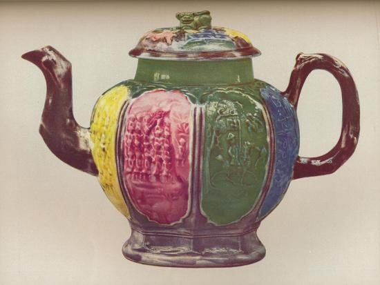 'An Octagonal Salt-Glaze Teapot', c1770-Unknown-Giclee Print