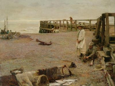 An October Morning, 1885-Walter Frederick Osborne-Giclee Print