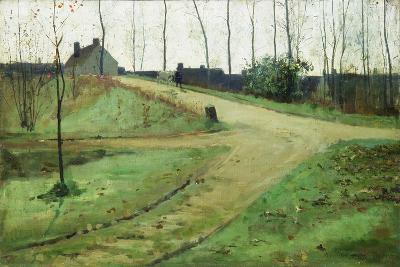 An October Morning-William Stott-Giclee Print