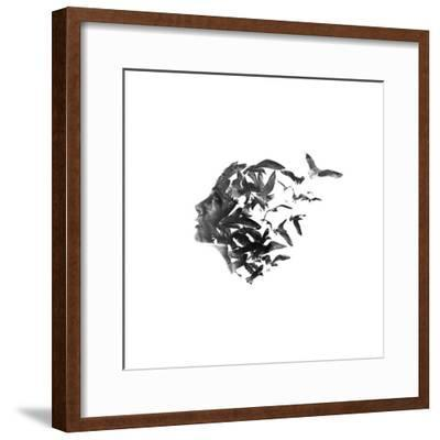 An Ode to the Sea, pt. 1-Aneta Ivanova-Framed Giclee Print
